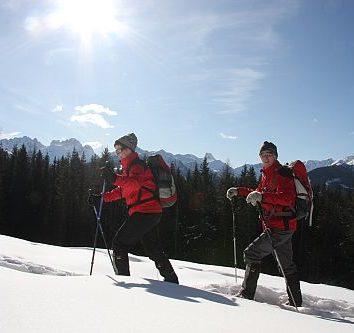 Winter-Wanderreise-Schneeschuhwanderung-Kaernten-Österreich