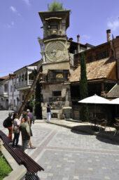 Glockenturm von Rezo Gabriadzes Puppentheater, Georgien Reise
