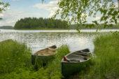 finnland-wanderreise-see