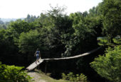 Aserbaidschan-Wanderreise-Brücke