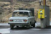 Armenien-Kurioses-an-der-Tankstelle