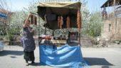 Armenien-Studienreise-Armenische-Spezialitäten-am-Kiosk