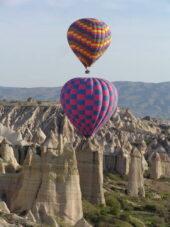 Türkei-Wanderreise-Heißluftballons