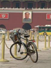Pekingreise, Fahrradausflug ,Platz des himmlischen Friedens