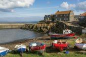 Craster Hafen Northumberland Wanderreise