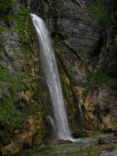Albanien-Wanderreise-Wasserfall