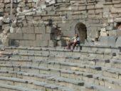 Wandern Jordanien: Umm Quais