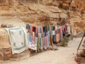 Jordanien-Silvesterreise-Souvenirstände-Petra