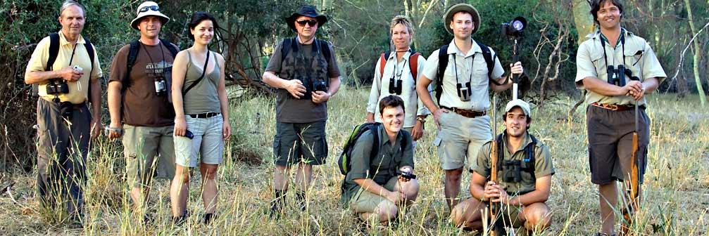 Spezialkurs Fährtenlesen in Südafrika und Botswana