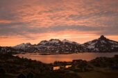 Grönland-Wanderreise-Sonnenuntergang