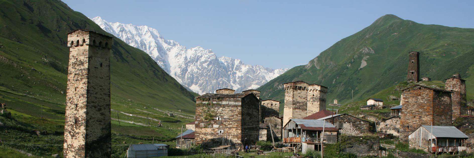 Georgien Wanderreise - Swanetien & kleiner Kaukasus