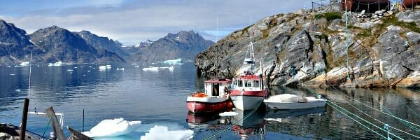 Grönland Wanderreise - Hafen