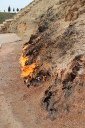 Aserbaidschan-Wanderreise-Feuer