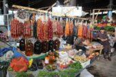 Georgien-Wanderreise-Markt-Telawi