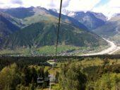 Georgien-Wanderreise-Mestia-Skilift
