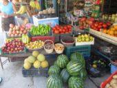 Albanien-Wanderreise-Markt-Obst