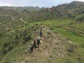 Iranreise Wanderung Panorama