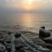 Jordanien-Studienreise-Sonnenuntergang-Totes Meer
