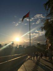 Jordanien-Wanderreise-Sonnenuntergang-in-Aqaba