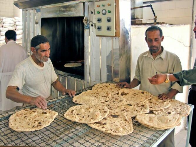 Iran-Studienreise-Bäckerei