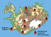 Island-Erlebnis- und Wanderreise-Reiseverlauf