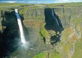 Island-Erlebnis- und Wanderreise-Haifoss-Wasserfall