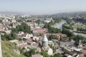Georgien-Radreise-Stadt
