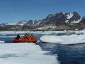 Grönland-Wanderreise-Boot