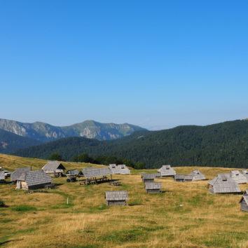 Montenegro-Wanderreise-Bergpanorama-Biogradska Gora Nationalpark