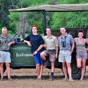Ranger-Ausbildung-Südafrika-Gruppe
