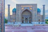 Usbekistan-Erlebnisreise-Registanplatz-Samarkand