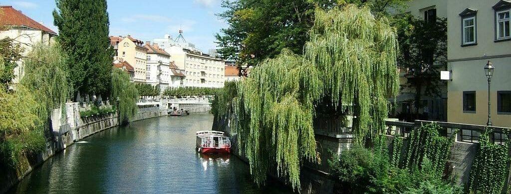 Slowenien Wanderreise - Ljubljana Fluß Sento