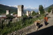 Georgien-Wanderreise-Swanetien-Kleiner-Kaukasus-Viehtrieb