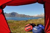 Grönland-Wanderreise-Zelt