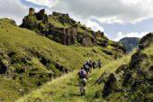 Wanderung bei der Festung Tmogwi