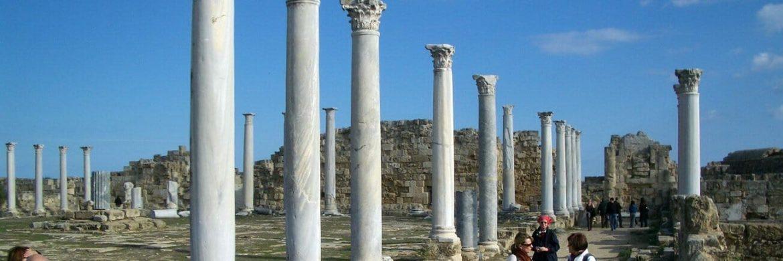 Nordzypern Silvesterreise: Antike Säulen