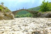 Albanien-Wanderreise-Vjosa-Tal-Brücke