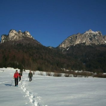 Slowakei, Winter, Wandern