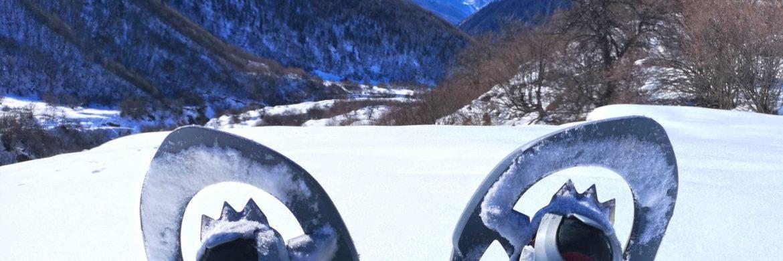 Georgien-Schneeschuhwandern-Schneeschuh-Panorama
