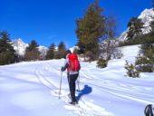 Georgien-Schneeschuhwandern-unterwegs