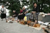 Georgien-Frauenreise-Verkäuferinnen