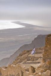 Israel-wanderreise-flagge-israel