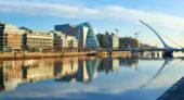 irland-wanderreise-dublin-liffey-harp bridge