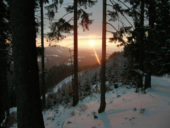 Slowakei, Winter, Aussicht