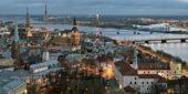 Riga, Lettland, Panorama