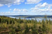 Wanderreise Schweden: Ljusnan Orbaden