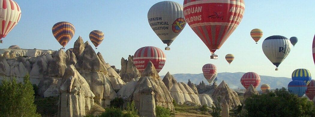 Türkei Wanderreise - Kappadokien & Taurusgebirge: Fesselballons