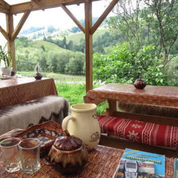 Ukraine-Wanderreise-Synewyr-Nationalpark-Unterkunft