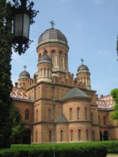 Ukraine-Wanderreise-Universitätskirche-Czernowitz