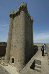Aserbaidschan Wanderreise: Festungsturm Mardakan